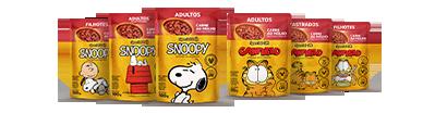 Produtos Snoopy e Garfield