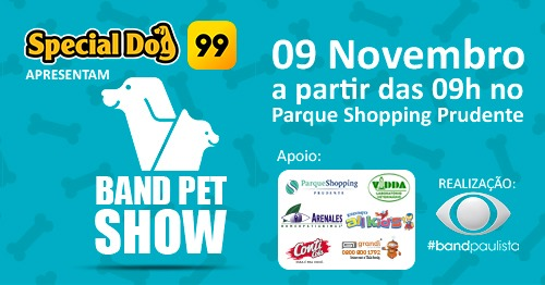 BAND PET SHOW PRUDENTE