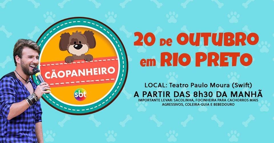 CÃOPANHEIRO EM RIO PRETO