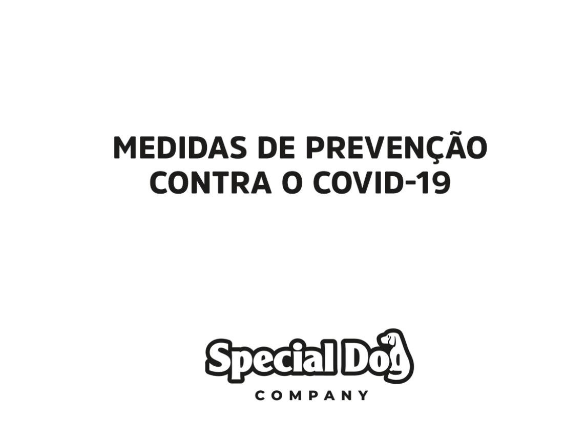 Special Dog Company anuncia medidas de prevenção contra o COVID-19