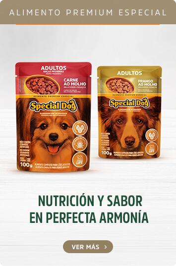 Alimento premium especial