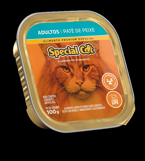 PATÊ SPECIAL CAT ADULTOS SABOR PEIXE