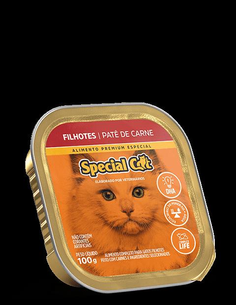 PATÊ SPECIAL CAT FILHOTES SABOR CARNE