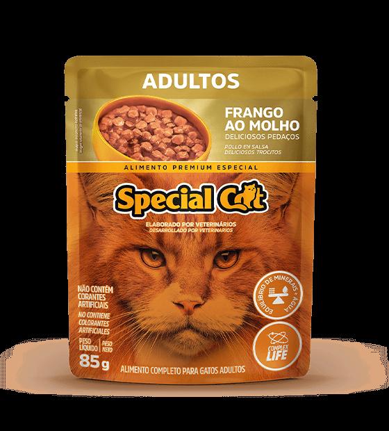 SACHÊ SPECIAL CAT ADULTOS SABOR FRANGO