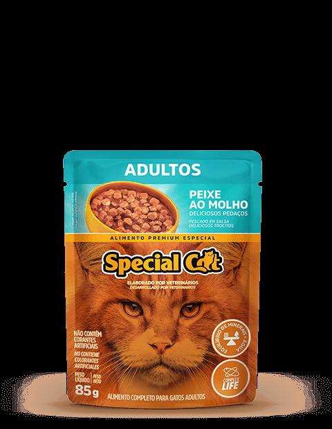 SACHÊ SPECIAL CAT ADULTOS SABOR PEIXE