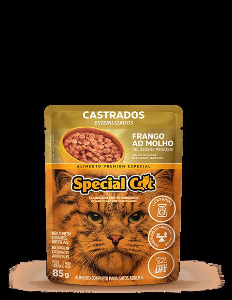 SACHÊ SPECIAL CAT CASTRADOS SABOR FRANGO