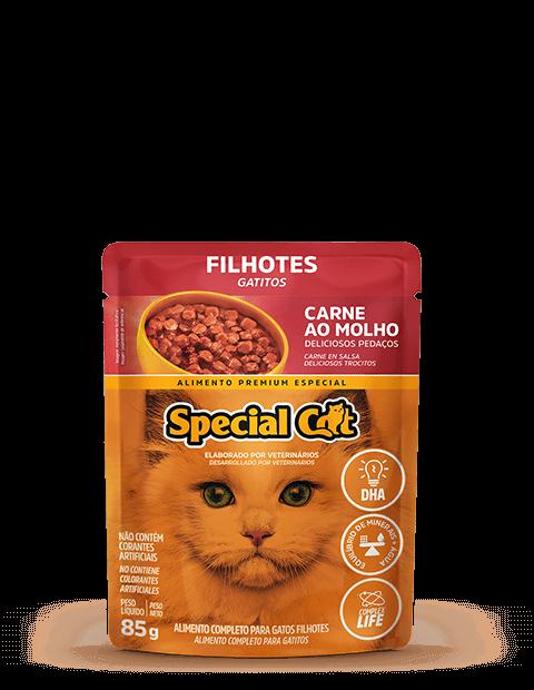 SACHÊ SPECIAL CAT FILHOTES SABOR CARNE