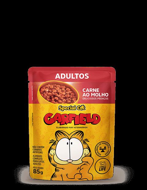 SACHÊ SPECIAL CAT GARFIELD ADULTOS SABOR CARNE