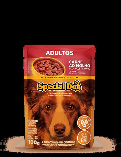 SACHÊ SPECIAL DOG ADULTOS SABOR CARNE