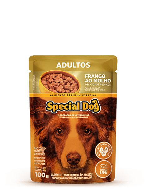 SACHÊ SPECIAL DOG ADULTOS SABOR FRANGO