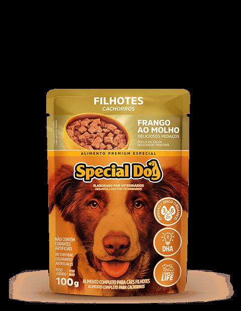 SACHÊ SPECIAL DOG FILHOTES SABOR FRANGO