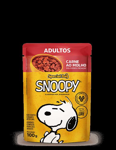 SACHÊ SPECIAL DOG SNOOPY ADULTOS SABOR CARNE