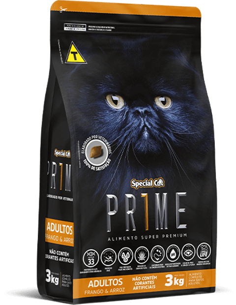 SPECIAL CAT PRIME ADULTOS FRANGO E ARROZ