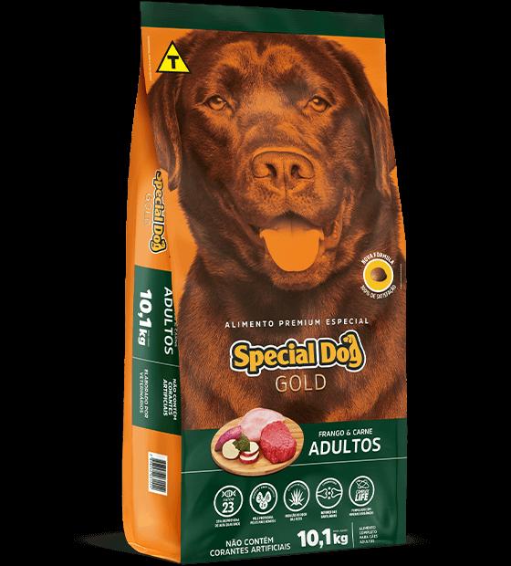 SPECIAL DOG GOLD ADULTOS FRANGO E CARNE