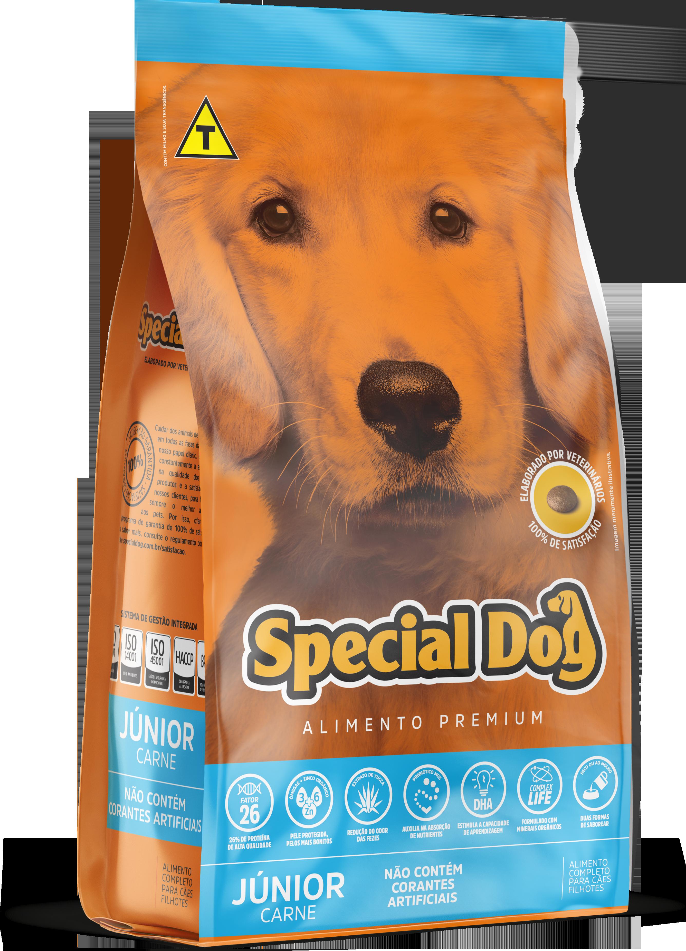 SPECIAL DOG JÚNIOR CARNE