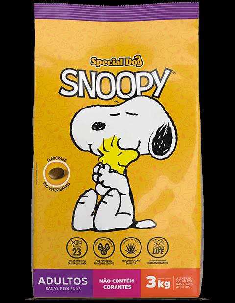 SPECIAL DOG SNOOPY ADULTOS RAÇAS PEQUENAS