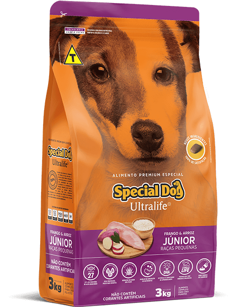 SPECIAL DOG ULTRALIFE JÚNIOR RAÇAS PEQUENAS