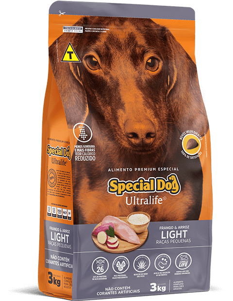 SPECIAL DOG ULTRALIFE LIGHT RAÇAS PEQUENAS
