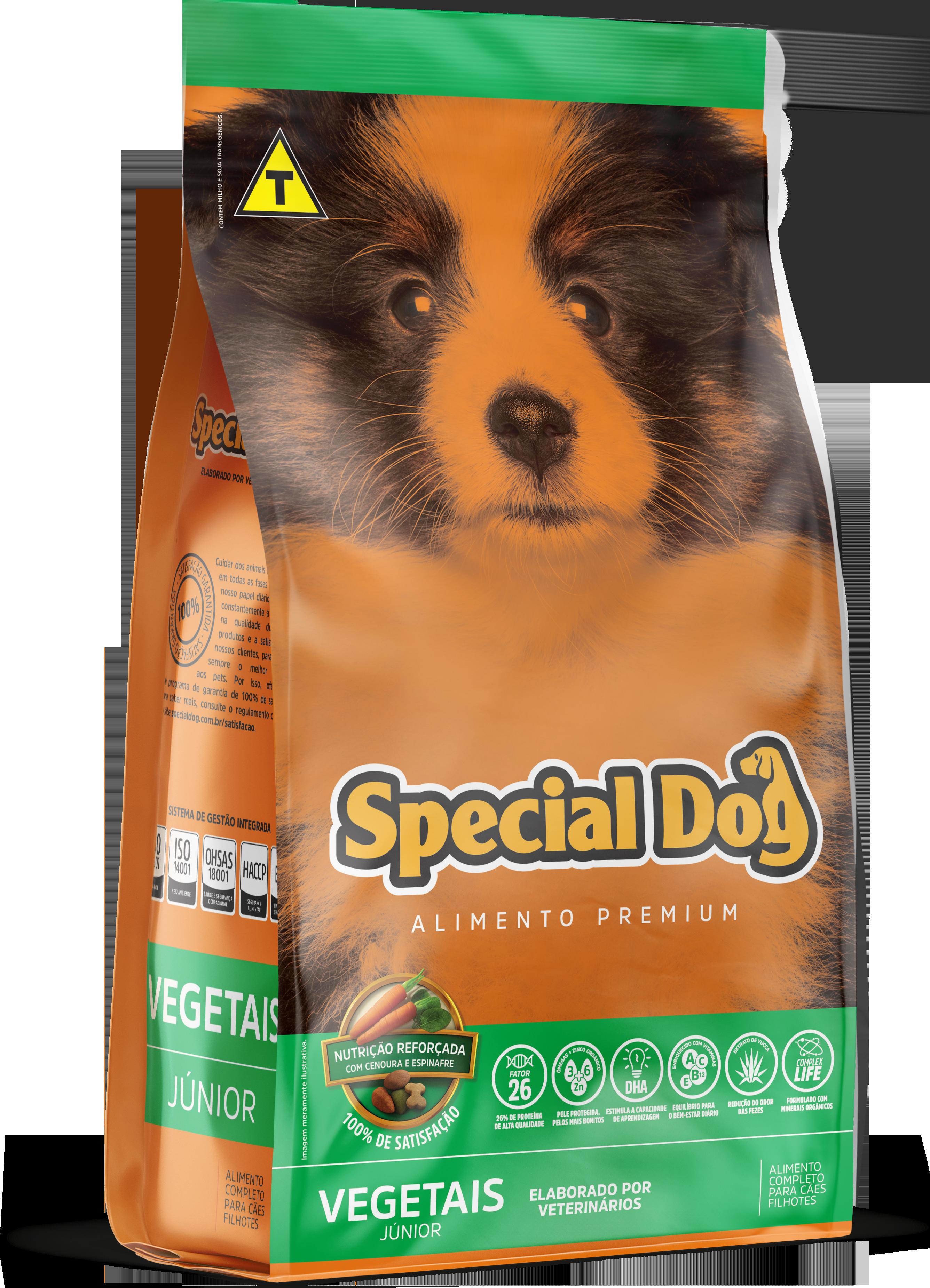 SPECIAL DOG VEGETAIS JUNIOR