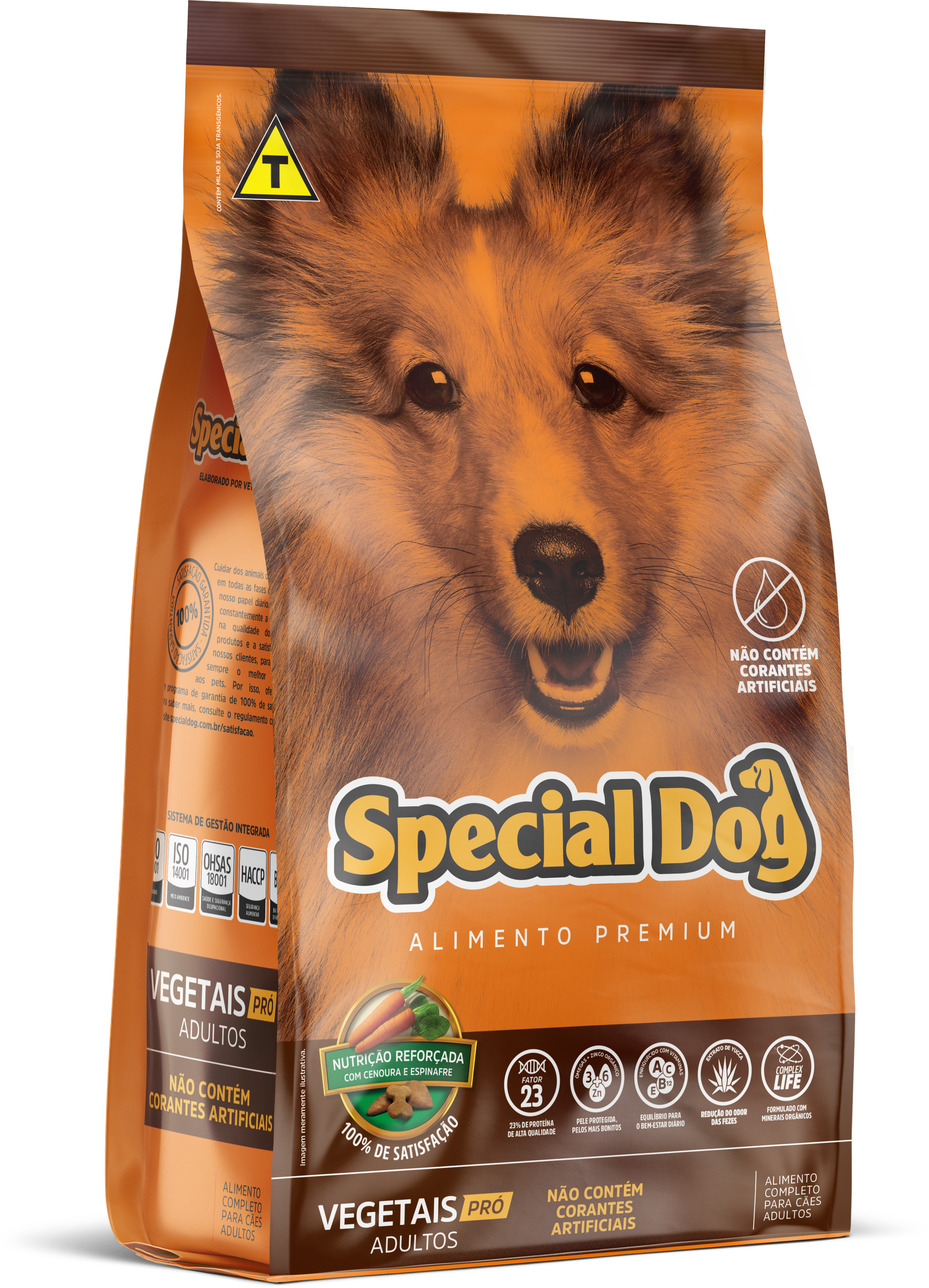 SPECIAL DOG VEGETAIS PRÓ ADULTOS